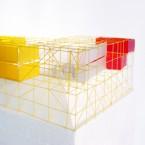 Architektur Design im Raum Kommunikationsdesign Kommunikation Sebastian Beck Stahlgerüst Gerüst Elemente Elementbau Leuchtturm Zeichen