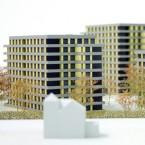 Wohnbebauung Wohnungsbau im Park Architektur Sebastian Beck Architekt Stadtplanung